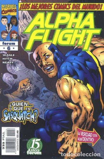 ALPHA FLIGHT VOL. 2 Nº 6 EDITORIAL PLANETA-DEAGOSTINI, (Tebeos y Comics - Forum - Alpha Flight)