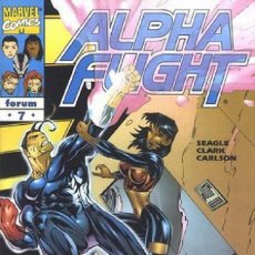 Cómics: ALPHA FLIGHT VOL. 2 Nº 7 EDITORIAL PLANETA-DEAGOSTINI,. Lote 205525421