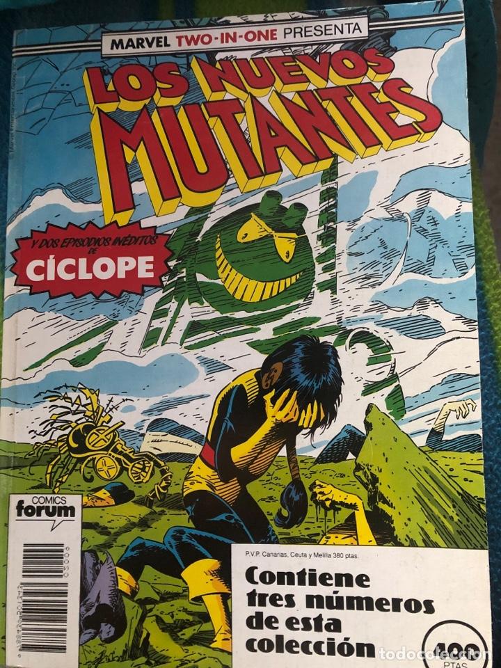 RETAPADO NUEVOS MUTANTES NÚMEROS 51-52-53 (Tebeos y Comics - Forum - Retapados)