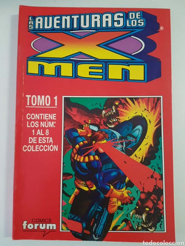 LAS AVENTURAS DE LOS X-MEN - RETAPADO TOMO 1 - 1 A 8 GRAPA FORUM (Tebeos y Comics - Forum - Retapados)