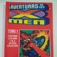 Cómics: LAS AVENTURAS DE LOS X-MEN - RETAPADO TOMO 1 - 1 A 8 GRAPA FORUM. Lote 205587031