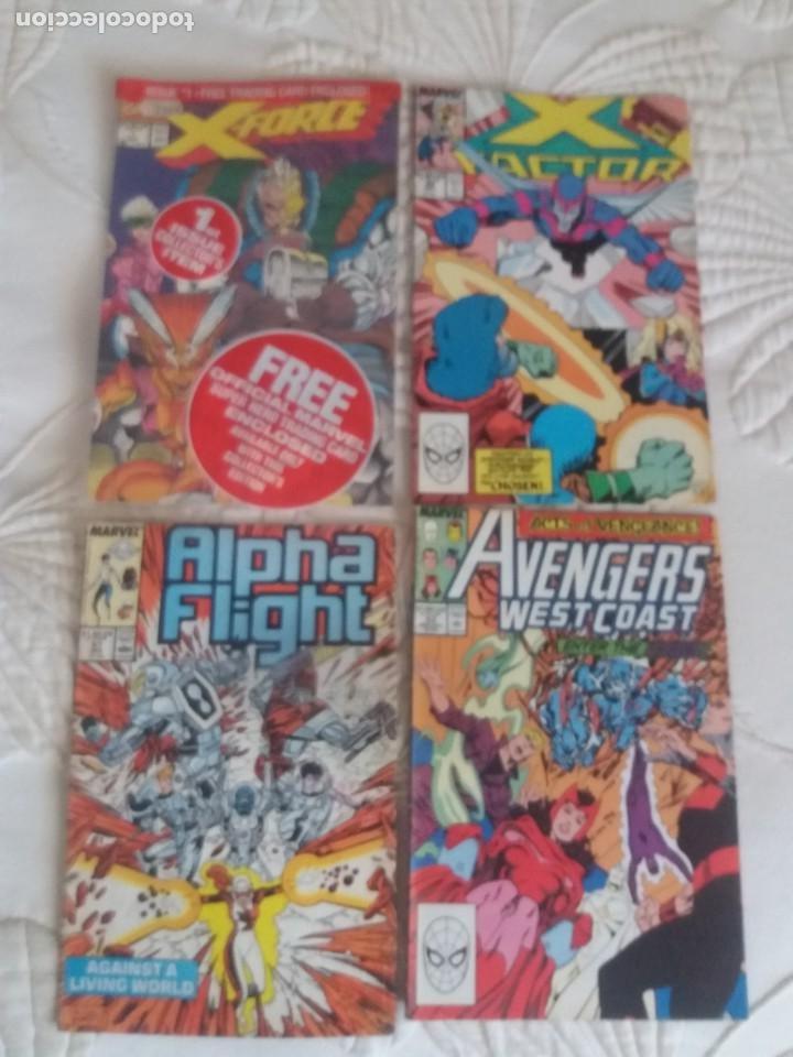 COMICS MARVEL ALPHA FLIGHT X FORCEX FACTOR AVENGERS (Tebeos y Comics - Forum - Alpha Flight)