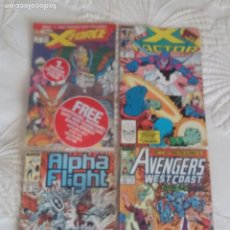 Cómics: COMICS MARVEL ALPHA FLIGHT X FORCEX FACTOR AVENGERS. Lote 205669953