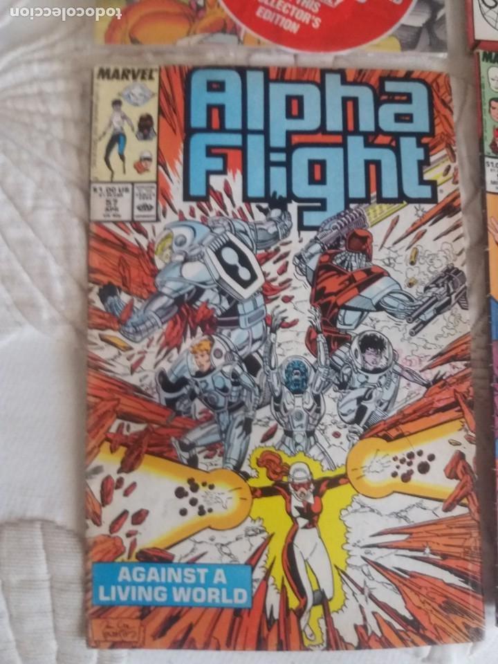 Cómics: COMICS MARVEL ALPHA FLIGHT X FORCEX FACTOR AVENGERS - Foto 2 - 205669953