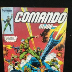 Cómics: COMANDO GI-JOE, EL TOMO CONTIENE LOS NÚMEROS DEL 1 AL 5, FORUM. Lote 205673901