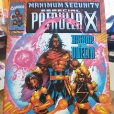 Cómics: ESPECIAL PATRULLA-X MAXIMUM SECURITY. Lote 205678147