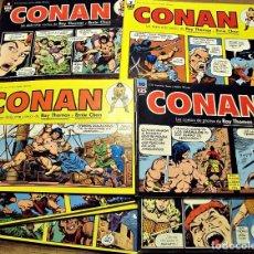 Cómics: CONAN - TIRAS DE PRENSA - 20 NºS - COMPLETA. Lote 205705762