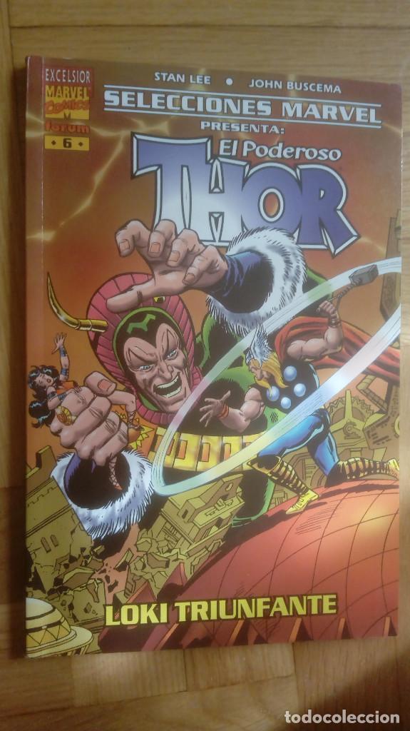 SELECCIONES MARVEL Nº 6. THOR. LOKI TRIUNFANTE (Tebeos y Comics - Forum - Thor)