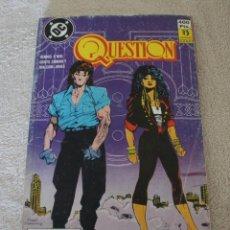 Cómics: COMIC THE QUESTION 6 NÚMEROS 26 AL 30 EDICIONES ZINCO. Lote 205844762