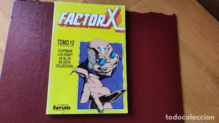 FACTOR X RETAPADO TOMO 12 (DEL 56 AL 59) (Tebeos y Comics - Forum - Retapados)
