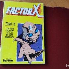 Cómics: FACTOR X RETAPADO TOMO 12 (DEL 56 AL 59). Lote 205849270