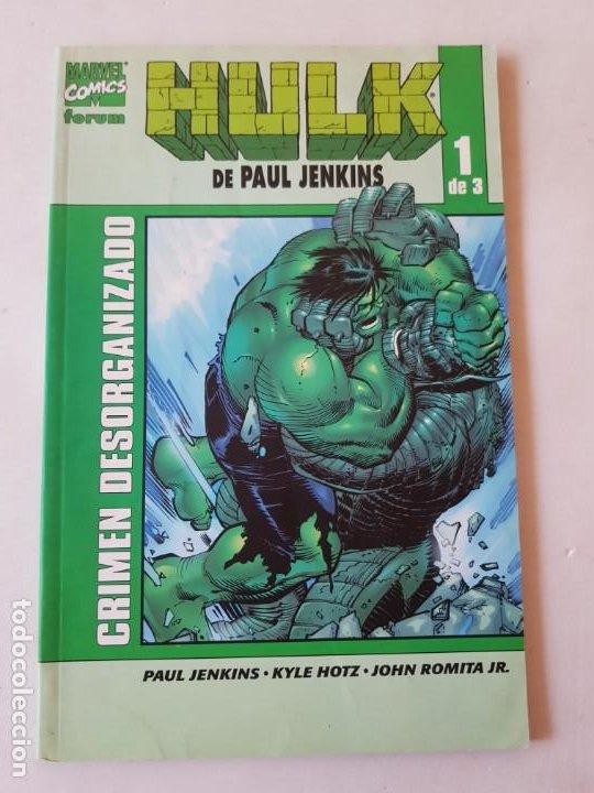 HULK TOMO 1 DE 3 ESTADO MUY BUENO MAS ARTICULOS NEGOCIABLE (Tebeos y Comics - Forum - Hulk)