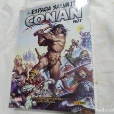 Cómics: LA ESPADA SALVAJE DE CONAN - 1977 - MARVEL / PANINI COMICS - ESTADO: NUEVO. Lote 206150830