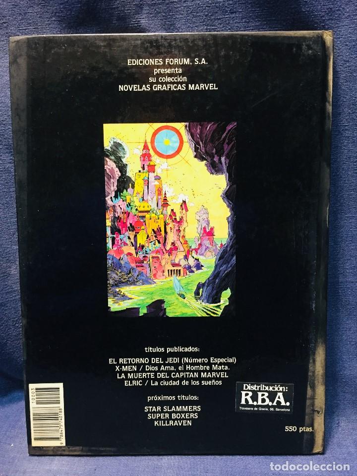 Cómics: ELRIC LA CIUDAD DE LOS SUEÑOS ROY THOMAS P. CRAIG RUSSELL NOVELAS GRÁFICAS MARVEL 3 EDICIONES FORUM - Foto 3 - 206155883