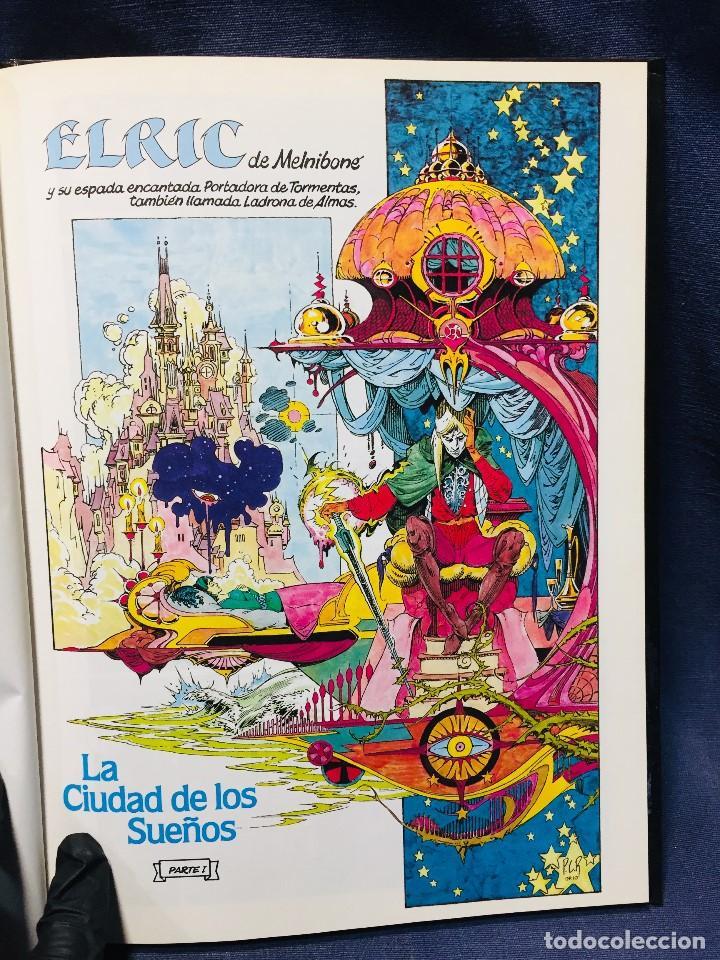 Cómics: ELRIC LA CIUDAD DE LOS SUEÑOS ROY THOMAS P. CRAIG RUSSELL NOVELAS GRÁFICAS MARVEL 3 EDICIONES FORUM - Foto 7 - 206155883
