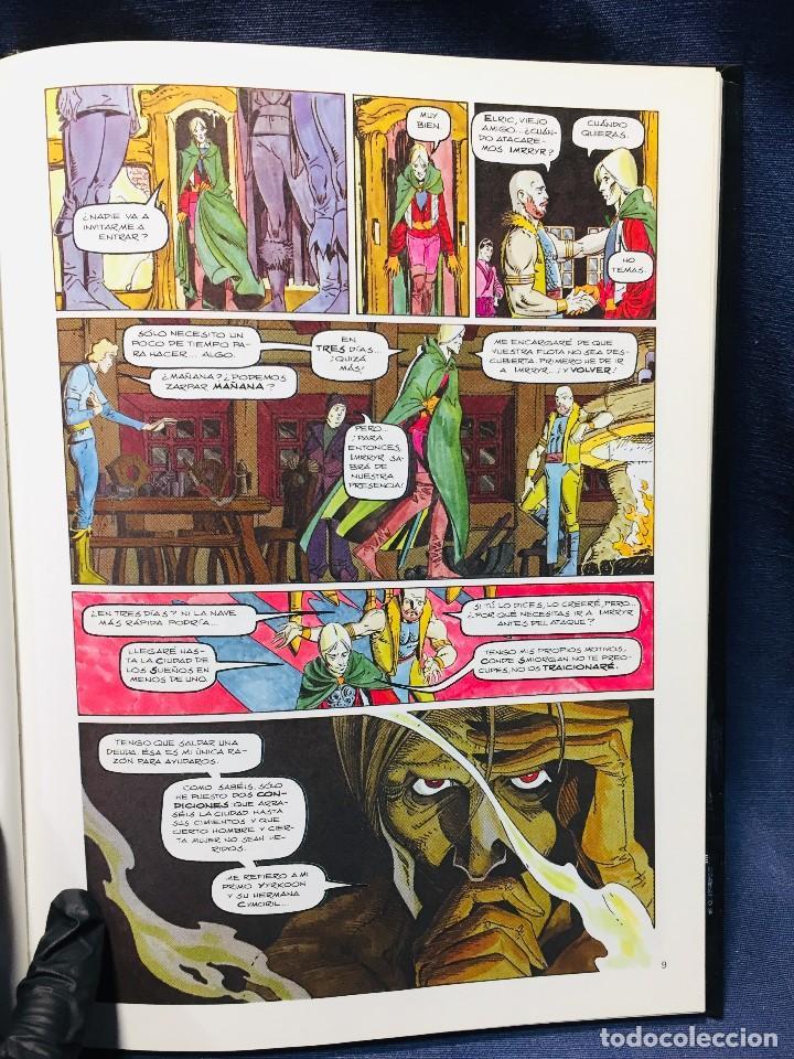 Cómics: ELRIC LA CIUDAD DE LOS SUEÑOS ROY THOMAS P. CRAIG RUSSELL NOVELAS GRÁFICAS MARVEL 3 EDICIONES FORUM - Foto 9 - 206155883