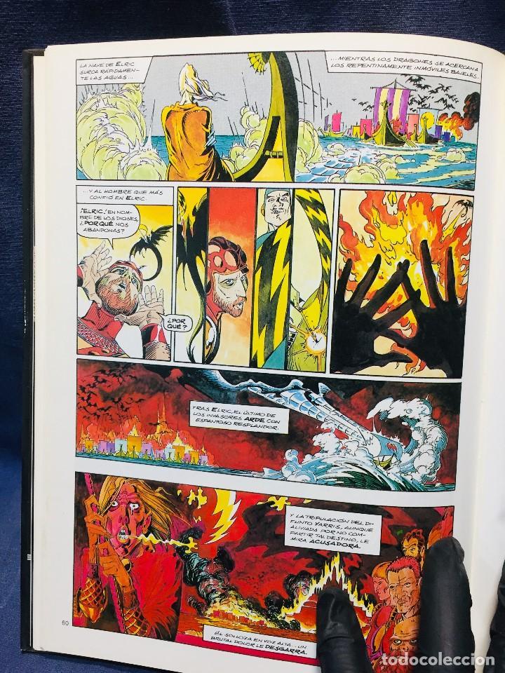 Cómics: ELRIC LA CIUDAD DE LOS SUEÑOS ROY THOMAS P. CRAIG RUSSELL NOVELAS GRÁFICAS MARVEL 3 EDICIONES FORUM - Foto 14 - 206155883