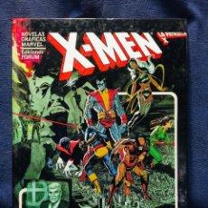Cómics: X MEN LA PATRULLA X NOVELAS GRÁFICAS MARVEL EDICIONES FORUM DIOS AMA EL HOMBRE MATA CLAREMONT 1982. Lote 206159540