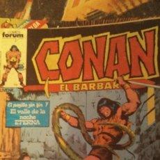 Cómics: COMIC FORUM CONAN EL BÁRBARO EL PASILLO SIN FIN Y EL VALLE DE LA NOCHE ETERNA. Lote 206184833