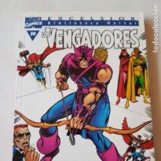 Cómics: LOS VENGADORES TOMO Nº 30 BIBLIOTECA MARVEL ESTADO MUY BUENO EDICIONES MAS ARTICULOS. Lote 206185658