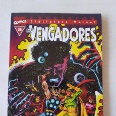 Cómics: LOS VENGADORES TOMO Nº 28 BIBLIOTECA MARVEL ESTADO MUY BUENO EDICIONES MAS ARTICULOS. Lote 206185677