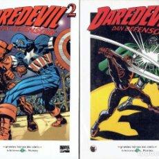 Cómics: DAREDEVIL N,1,2 Y 3 DAN DEFENSOR GRANDES HEROES DEL COMIC BIBLIOTECA EL MUNDO AÑO 2003. Lote 206204592