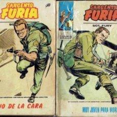 Cómics: LOTE 4 COMICS SARGENTO FURIA N,8,12,15,19 EDICIONES VERTICE 1975. Lote 206206435