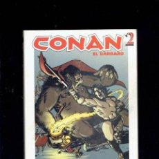 Cómics: GRANDES HEROES DEL COMIC CONAN EL BARBARO N,2 BIBLIOTECA EL MUNDO. Lote 206210173