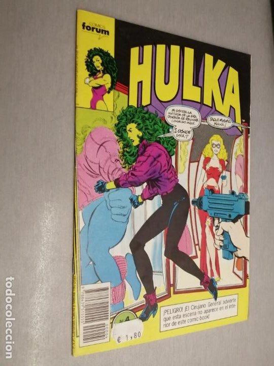 HULKA Nº 4 / MARVEL - FORUM (Tebeos y Comics - Forum - Hulk)