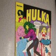 Cómics: HULKA Nº 4 / MARVEL - FORUM. Lote 206257260