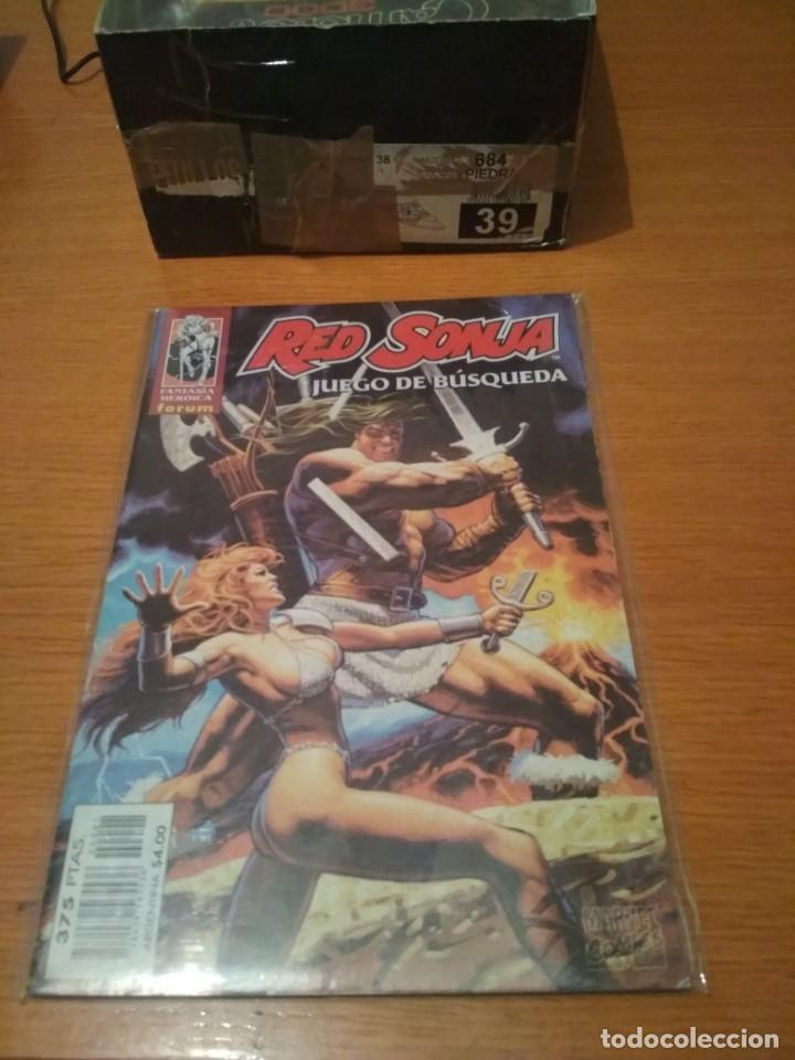 RED SONJA JUEGO DE BUSQUEDA ENVIO ECONÓMICO MARVEL CONAN NO PANINI MARVEL (Tebeos y Comics - Forum - Conan)