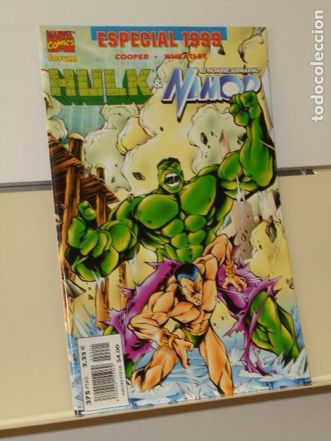 MARVEL EL INCREIBLE HULK & NAMOR ESPECIAL 1999 - PLANETA (Tebeos y Comics - Forum - Hulk)