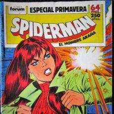 Cómics: SPIDERMAN VOL. 1 - ESPECIAL PRIMAVERA 1989. Lote 206393446