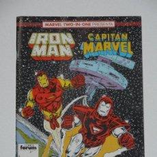 Cómics: //CCS// COMIC MARVEL TWO IN ONE IRON MAN - CAPITÁN MARVEL # 53 DE FORUM. Lote 206413286