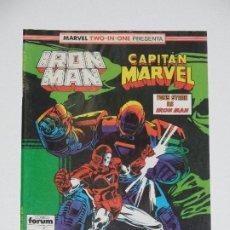 Cómics: //CCS// COMIC MARVEL TWO IN ONE IRON MAN - CAPITÁN MARVEL # 45 DE FORUM. Lote 206413446