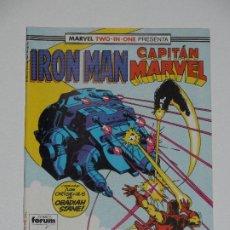 Cómics: //CCS// COMIC MARVEL TWO IN ONE IRON MAN - CAPITÁN MARVEL # 44 DE FORUM. Lote 206413768