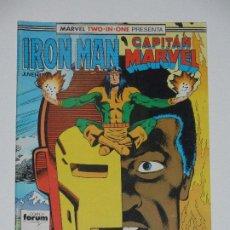 Cómics: //CCS// COMIC MARVEL TWO IN ONE IRON MAN - CAPITÁN MARVEL # 42* DE FORUM. Lote 206414221