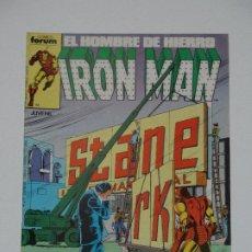 Cómics: //CCS// COMIC MARVEL IRON MAN # 25 DE FORUM. Lote 206416625