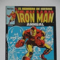 Cómics: //CCS// COMIC MARVEL IRON MAN # 22 DE FORUM. Lote 206416997