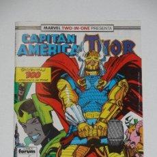 Cómics: //CCS// COMIC MARVEL TWO IN ONE CAPITÁN AMÉRICA - THOR # 64 DE FORUM. Lote 206418018