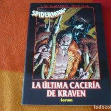 Cómics: SPIDERMAN LA ULTIMA CACERIA DE KRAVEN ( DEMATTEIS ) MARVEL GRANDES OBRAS FORUM MAESTRAS 37. Lote 206430268