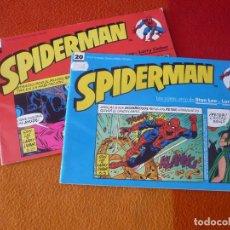 Cómics: SPIDERMAN LAS TIRAS DE PRENSA Nº 19 Y 20 ( STAN LEE ) MARVEL FORUM. Lote 206431303