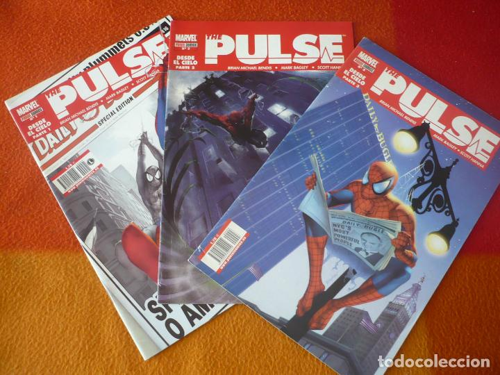 THE PULSE NºS 1, 2 Y 3 ( BENDIS BAGLEY ) MARVEL FORUM SPIDERMAN (Tebeos y Comics - Forum - Spiderman)