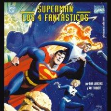 Cómics: SUPERMAN / LOS 4 FANTÁSTICOS - PLANETA-DEAGOSTINI (FORUM) / NÚMERO ÚNICO EDICIÓN GIGANTE. Lote 206449080