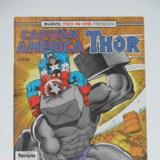 Cómics: //CCS// COMIC MARVEL TWO IN ONE CAPITÁN AMÉRICA - THOR # 53* DE FORUM. Lote 206458863