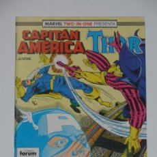 Cómics: //CCS// COMIC MARVEL TWO IN ONE CAPITÁN AMÉRICA - THOR # 52* DE FORUM. Lote 206460412