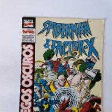 Cómics: SPIDER-MAN & FACTOR-X JUEGOS OSCUROS N° 2 DE 3 MARVEL FORUM. Lote 206490082