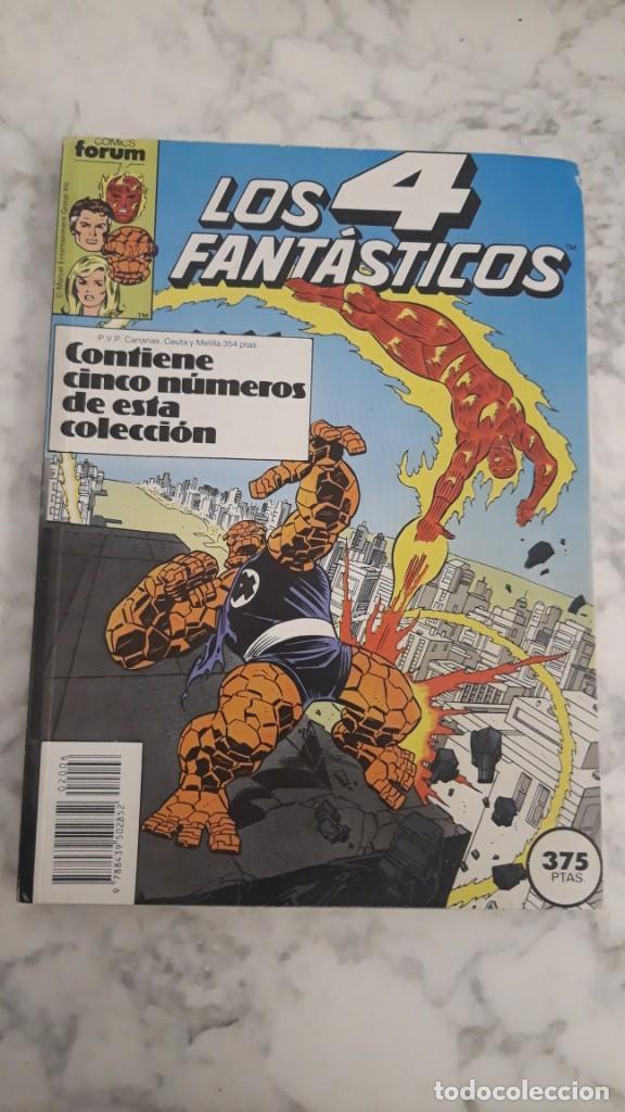 LOS 4 FANTASTICOS, Nº 76 - 77 - 78 - 79 - 80 / (RETAPADO) (Tebeos y Comics - Forum - 4 Fantásticos)