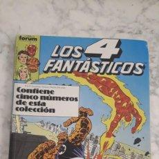 Cómics: LOS 4 FANTASTICOS, Nº 76 - 77 - 78 - 79 - 80 / (RETAPADO). Lote 206750431