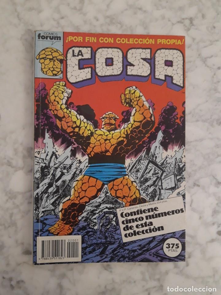 LA COSA - COLECCIÓN COMPLETA 16 NÚMEROS (Tebeos y Comics - Forum - 4 Fantásticos)